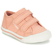 Shoes Girl Low top trainers Le Coq Sportif DEAUVILLE-INF SPORT Pink