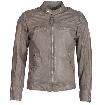 material Men Leather jackets / Imitation le Schott SPYDER Grey