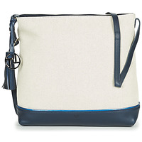 Bags Women Shoulder bags Texier OLIVIA White / Marine