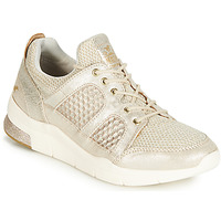 Shoes Women Low top trainers Mustang 1305304-482 Gold