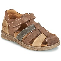 Shoes Boy Sandals Citrouille et Compagnie FRINOUI Brown