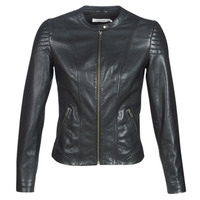 material Women Leather jackets / Imitation le Naf Naf CLIM Black