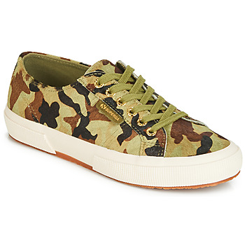Shoes Low top trainers Superga 2750 LEAHORSE Camo