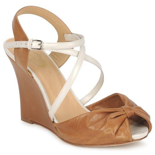 Shoes Women Sandals Paul & Joe MYRTI Camel / Ecru