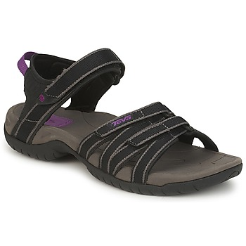Shoes Women Sports sandals Teva TIRRA Black / Grey
