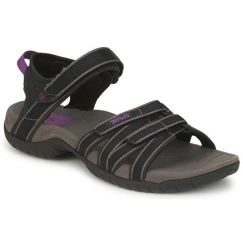 Shoes Women Sports sandals Teva TIRRA Black / Grey