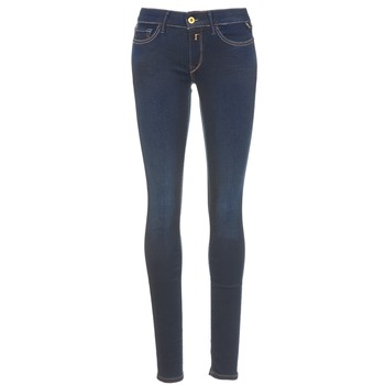 material Women Skinny jeans Replay LUZ Blue
