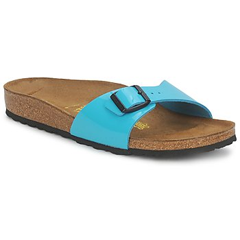 Shoes Women Mules Birkenstock MADRID TURQUOISE / PATENT