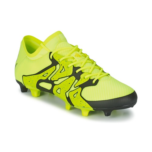 Shoes Men Football shoes adidas Performance X 15.1 FG/AG Yellow