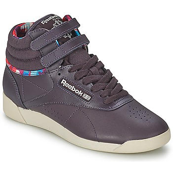 Shoes Women High top trainers Reebok Classic F/S HI GEO GRAPHICS Violet