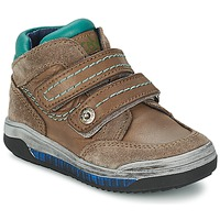 Shoes Girl High top trainers Acebo's ACERA TAUPE