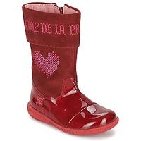 Shoes Girl Boots Agatha Ruiz de la Prada DAFNE Red