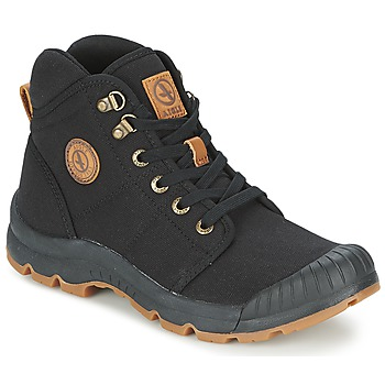Shoes Men High top trainers Aigle TENERE LIGHT Black