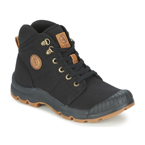 Shoes Men High top trainers Aigle TENERE LIGHT Black