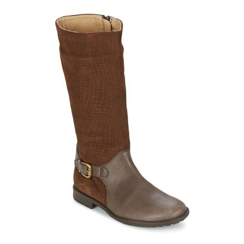 Shoes Girl Boots Garvalin KAISER Y SERRAJE GRABADO Brown