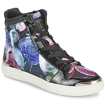 Shoes Women High top trainers Ted Baker MADISN Black / Multicoloured