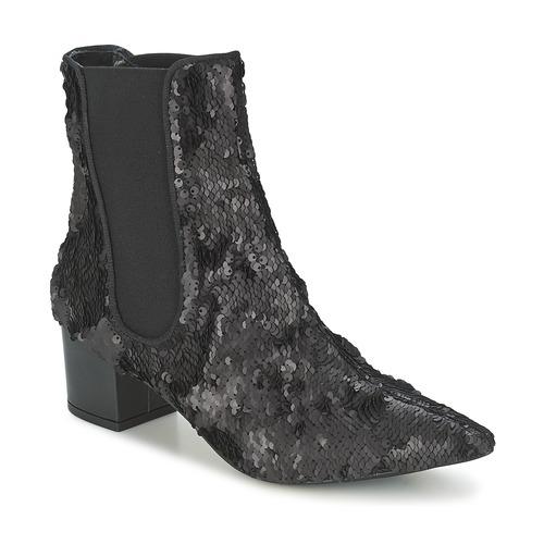 Shoes Women Mid boots RAS ANAHI Black