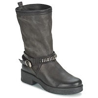 Shoes Women Boots Samoa PIOMBO Black