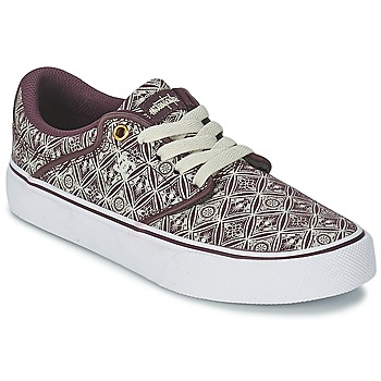 Shoes Women Low top trainers DC Shoes MIKEY TAYLOR VU Syrah
