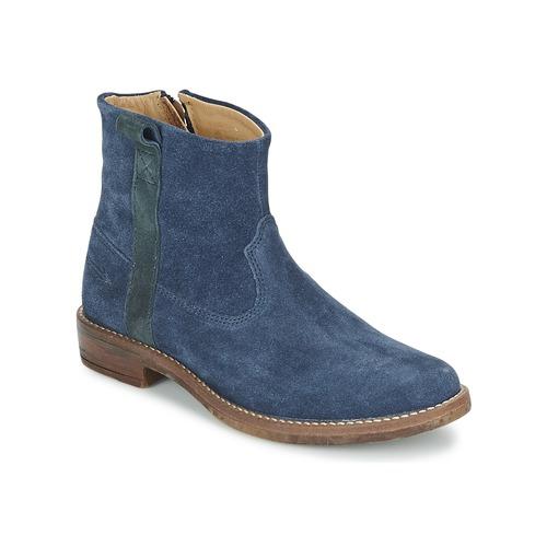 Shoes Girl Mid boots Shwik TIJUANA STRIPES Marine