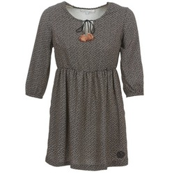 material Women Short Dresses Banana Moon CASTLEGAR Grey