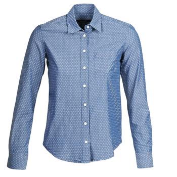 material Women Shirts Gant EXUNIDE Blue