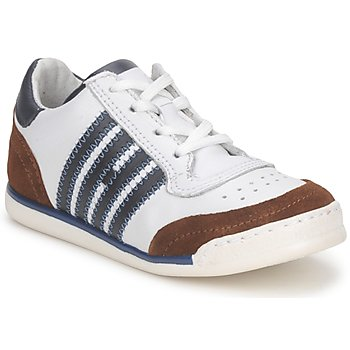 Shoes Children Low top trainers Hip ARCHIK White / Brown