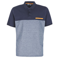 material Men short-sleeved polo shirts Casual Attitude JACOBI Marine / Grey