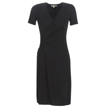 material Women Long Dresses MICHAEL Michael Kors ELV TWIST DRSS Black