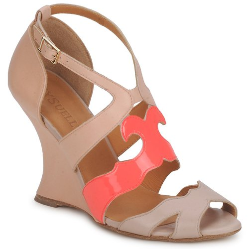 Shoes Women Sandals MySuelly PAULINE Taupe / Grenadine
