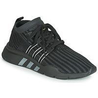Shoes Men Low top trainers adidas Originals EQT SUPPORT MID ADV PK Black