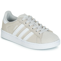 Shoes Children Low top trainers adidas Originals CAMPUS C Grey