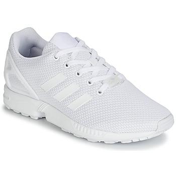 Shoes Children Low top trainers adidas Originals ZX FLUX J White
