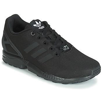 Shoes Boy Low top trainers adidas Originals ZX FLUX J Black