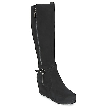 Shoes Women Boots Moda In Pelle SITA Black