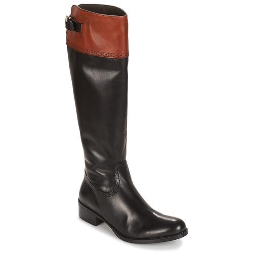 Shoes Women Boots Moda In Pelle TULSY  black
