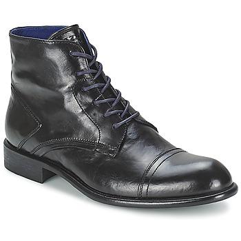 Shoes Men Mid boots Azzaro EPICOR Black