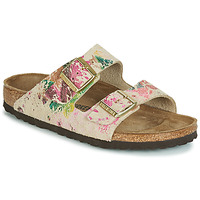 Shoes Women Mules Birkenstock ARIZONA Beige