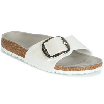 Shoes Women Mules Birkenstock MADRID BIG BUCKLE White