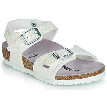 Shoes Girl Sandals Birkenstock RIO White