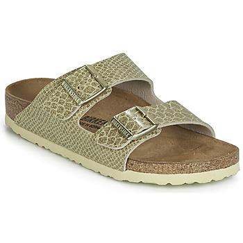 Shoes Women Mules Birkenstock ARIZONA Gold