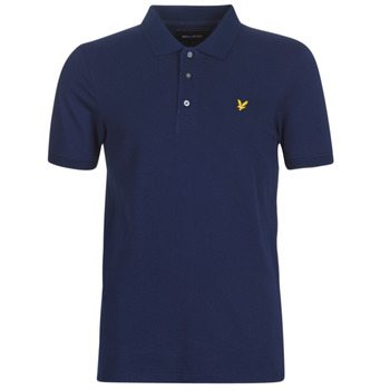 material Men short-sleeved polo shirts Lyle & Scott FAFARLIPE Marine
