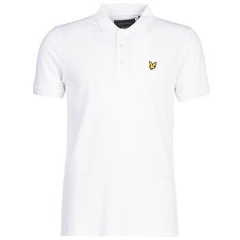 material Men short-sleeved polo shirts Lyle & Scott FAFARLIPE White