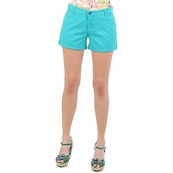 material Women Shorts / Bermudas Vero Moda RIDER 634 DENIM SHORTS - MIX Turquoise