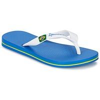 Shoes Boy Flip flops Ipanema CLASSICA BRASIL II KIDS Blue / White
