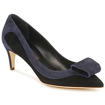 Shoes Women Court shoes Rupert Sanderson BESSIE Blue / Black