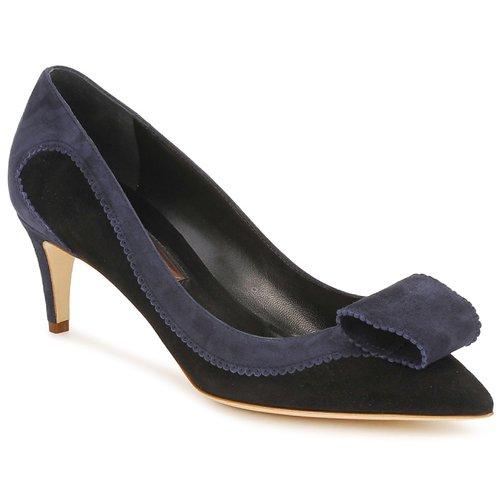Shoes Women Court shoes Rupert Sanderson BESSIE Blue / Black