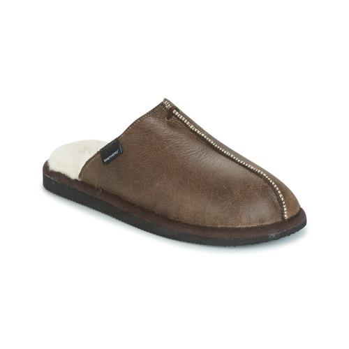 Shoes Men Slippers Shepherd HUGO Brown