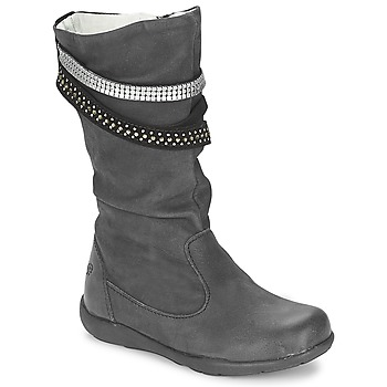 Shoes Girl Boots Primigi (enfant) CHARLIZE Black