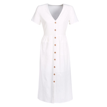 material Women Long Dresses Betty London JAGAGE White